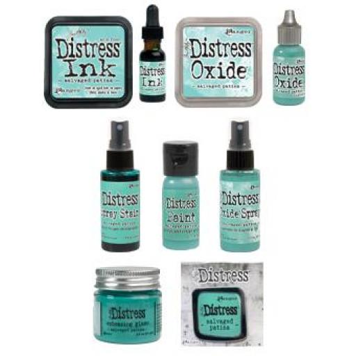 Tim Holtz ® Distress Full Set -Salvaged Patina