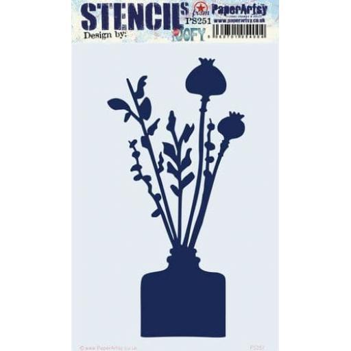 PaperArtsy - PA Stencil 251 Large {JoFY}