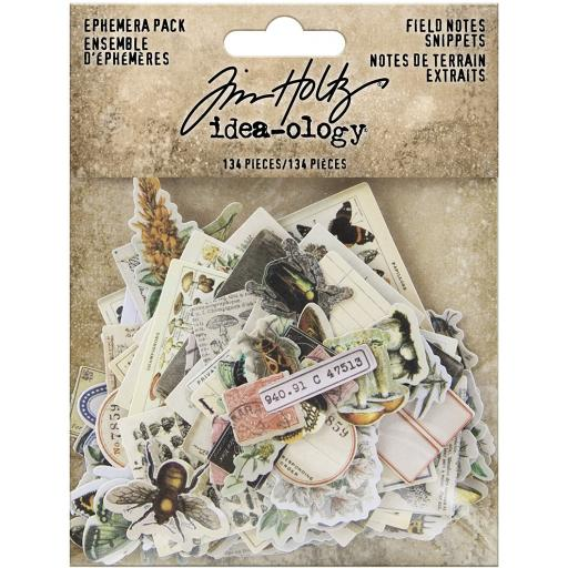 Tim Holtz® Idea-ology - Field Notes Ephemera Snippets (TH94049)