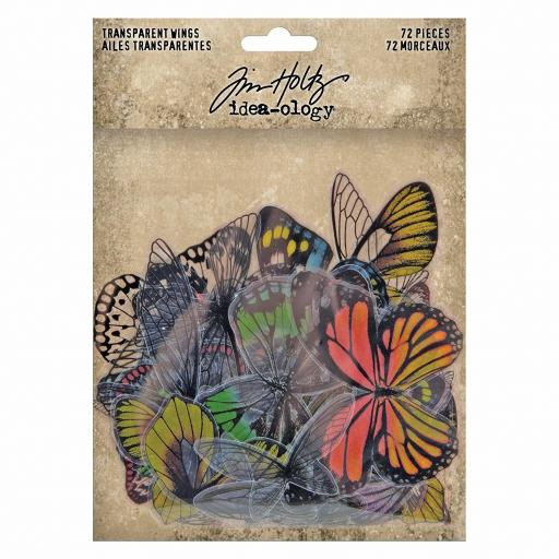 Tim Holtz® Ideaology -Transparent Wings (72pcs) (TH93785)
