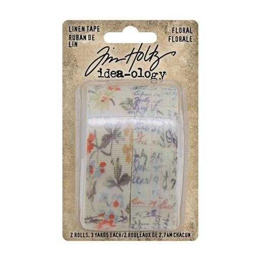 Tim Holtz® Idea-ology - Linen Tape Floral (TH94139)
