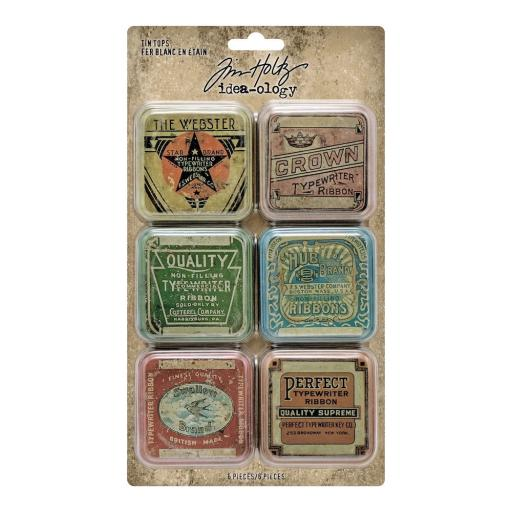 Tim Holtz® Idea-ology - Tin Tops