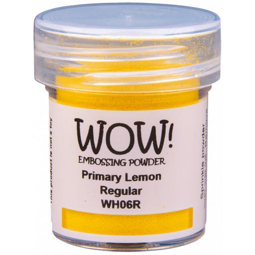 WOW! Embossing Powder Lemon 15ml