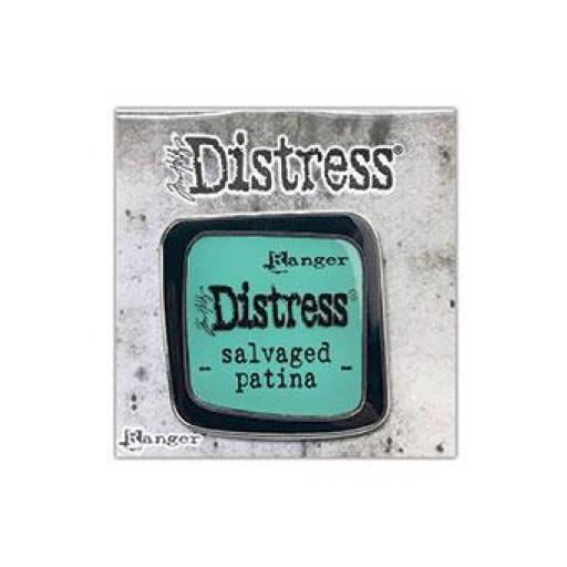 Tim Holtz ® Distress Enamel Pin Salvaged Patina