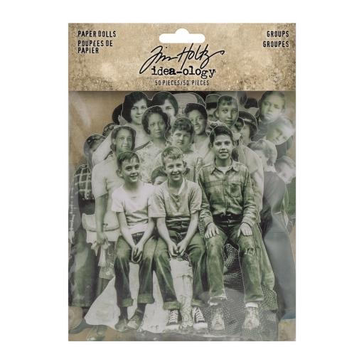 Tim Holtz® Idea-ology - Paper Dolls Groups (TH94137)