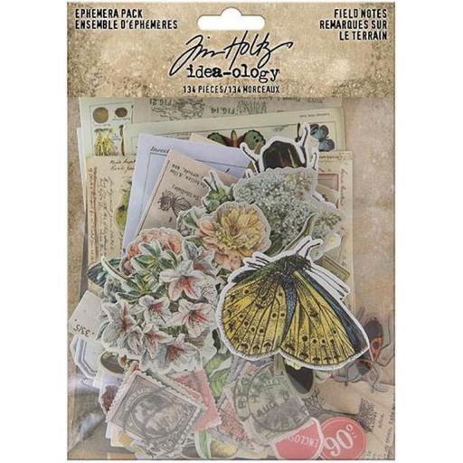 Tim Holtz® Idea-ology - Field Notes Ephemera Pack (TH94051)