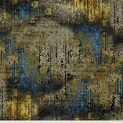 Tim Holtz - Abandoned 2 - Gilded Mosaic - Gold
