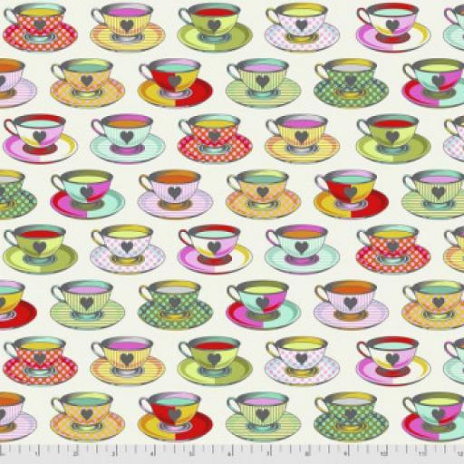 Tula Pink - Curiouser and Curiouser-Tea Time - Sugar