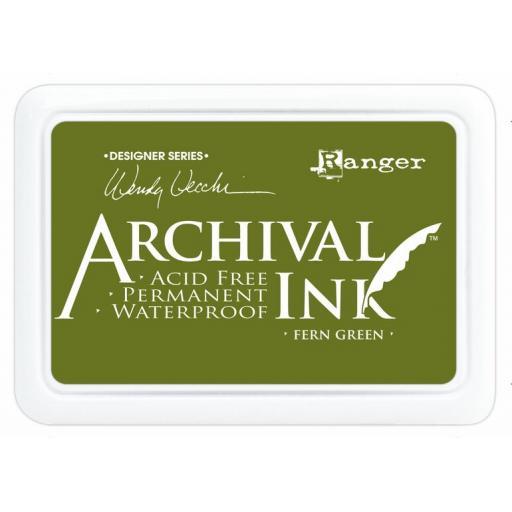 Archival Ink Pad - Fern Green