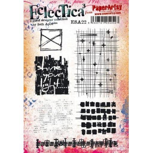 PaperArtsy - E³ Seth Apter 22 (A5 set, trimmed, on EZ)