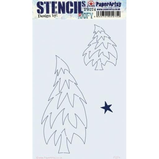 PaperArtsy - PA Stencil 274 Large {JoFY}