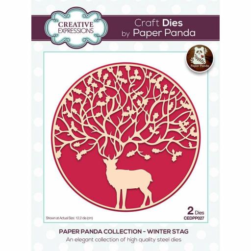 Creative Expressions Paper Panda Winter Stag Craft Die