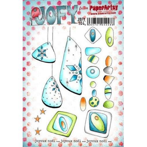PaperArtsy - JOFY104 (A5 set, trimmed, on EZ)
