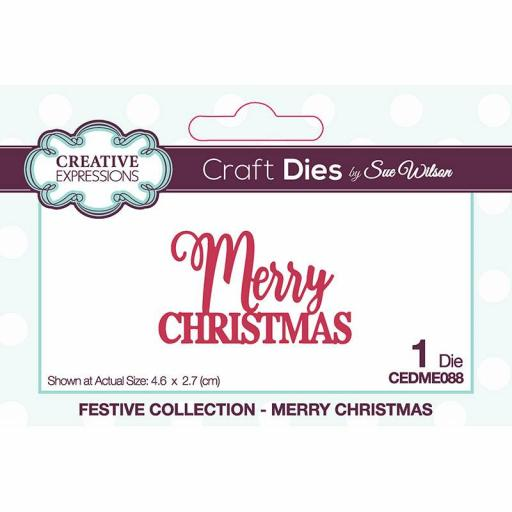 Creative Expressions Sue Wilson Mini Expressions Seasons Greetings Craft Die