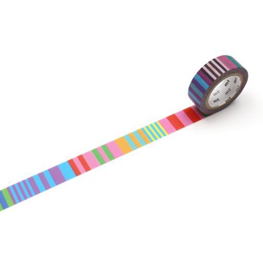 Washi Tape - MT Kapitza Candy Stripe