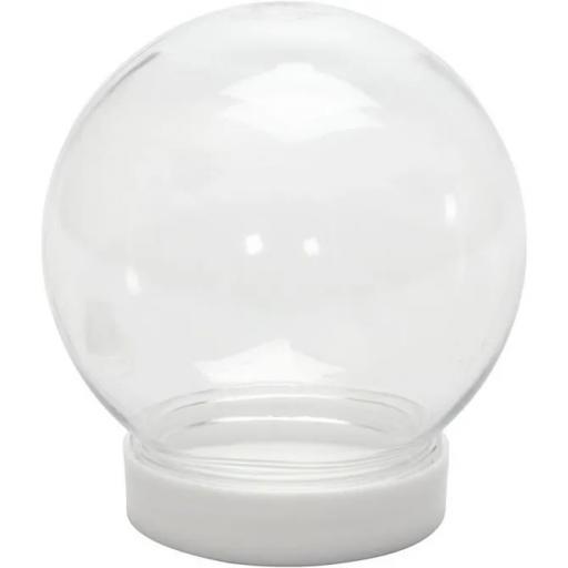 Snow Globe, H: 8,5 cm, D: 8 cm, hole size 4,7 cm,