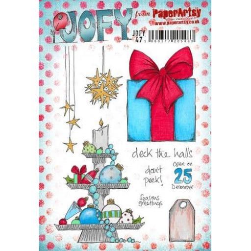 PaperArtsy- JOFY47 (A5 set, trimmed, on EZ) Pre Order