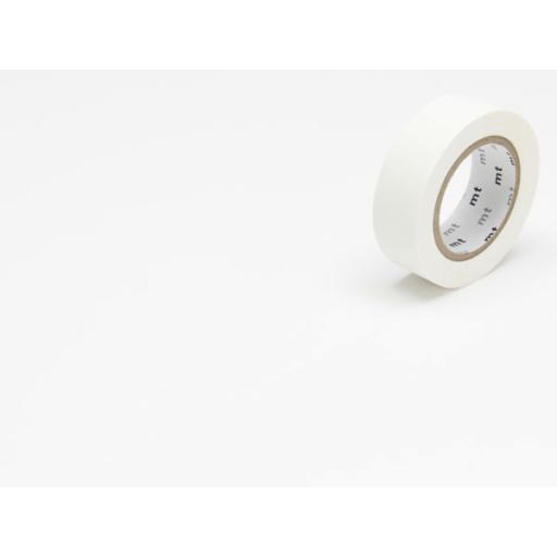 Washi Tape - MT matte white