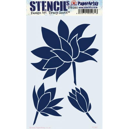 PaperArtsy - PA Stencil 280 Large {Tracy Scott}