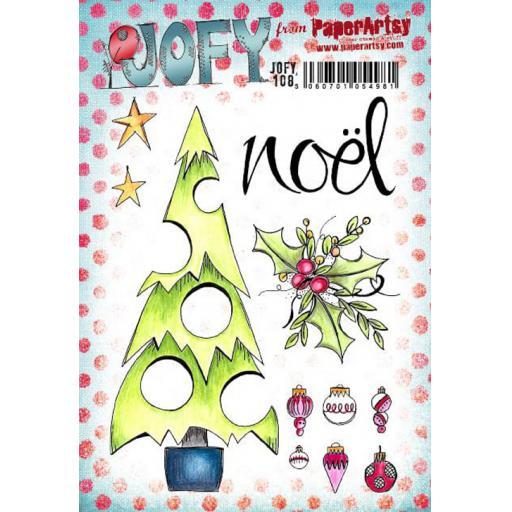 PaperArtsy - JOFY108 (A5 set, trimmed, on EZ)