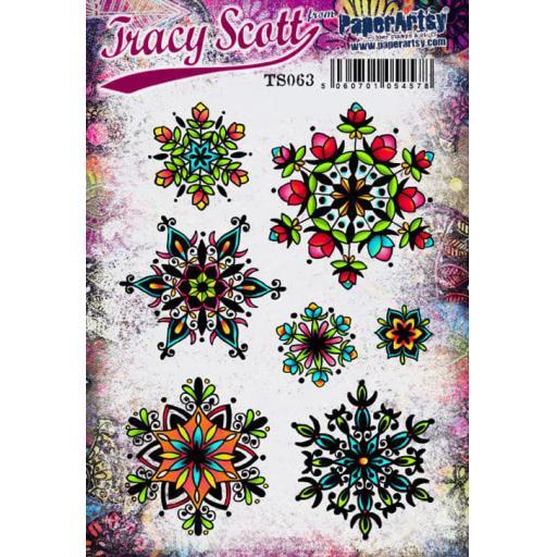 PaperArtsy - Tracy Scott 063 (A5 set, trimmed, on EZ)