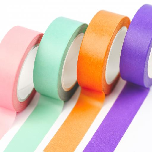 Yippee Stationery Washi Tape {multi colours} set of 4