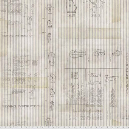 Tim Holtz® - Monochrome - Sewing Instructions Linen