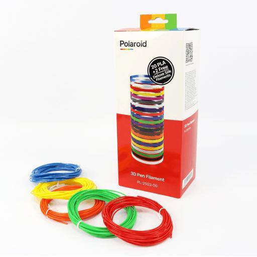 Polaroid Play+ 3D Pen PLA Filament x 22
